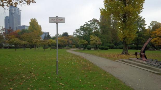 Park Rady Europy mógłby być wizytówką Gdyni.