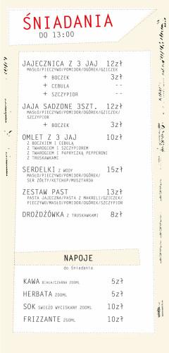 Od teraz w lokalu Białe Wino i Owoce w Gdyni zjemy też śniadania.