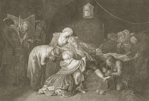 """Daniel Chodowiecki, """"Wielki Calas"""", akwaforta, 1768, E.48II © kolekcja prywatna, Kraków"""