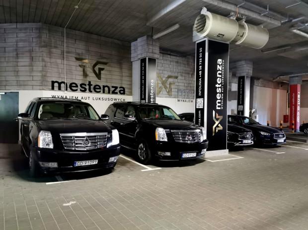 Bazą dla floty wypożyczalni Mestenza jest parking Galerii Metropolia, ale oczywiście istnieje możliwość dostarczenia pojazdu pod wskazany przez klienta adres.