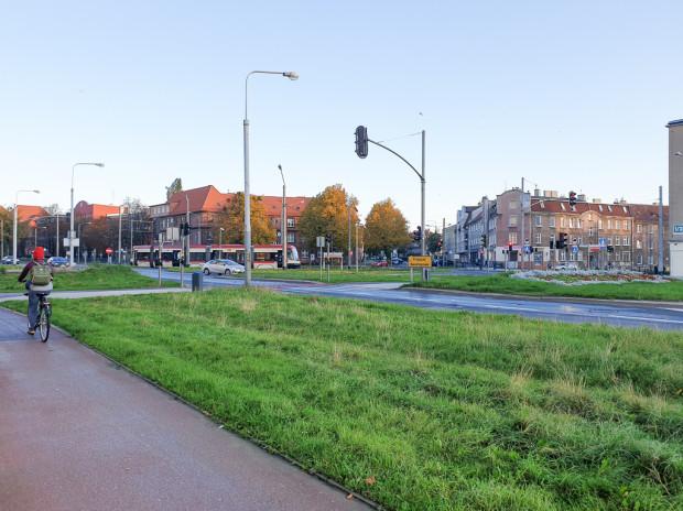 Planowana lokalizacja nowego przystanku autobusowego.
