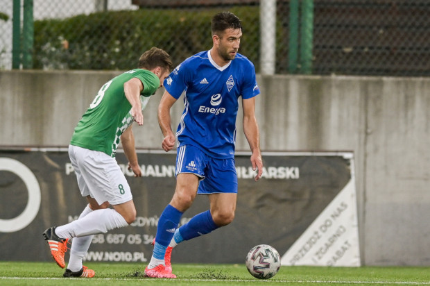 Michał Marczak ma już na koncie 10 goli w obecnych rozgrywkach III ligi. Ten strzelony w niedzielę zapewnił Bałtykowi wygraną z Unią.