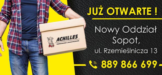 Firma Achilles świadczy usługi przeprowadzkowe wysokiej jakości.
