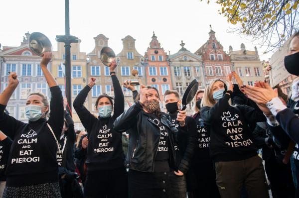 Przedstawiciele trójmiejskiej branży gastronomicznej wyszli ostatnio protestować na ulicach.