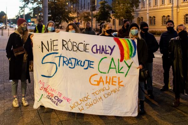 """Do """"Gastro Strajku"""" przyłączyli się też pracownicy sopockiej gastronomii."""