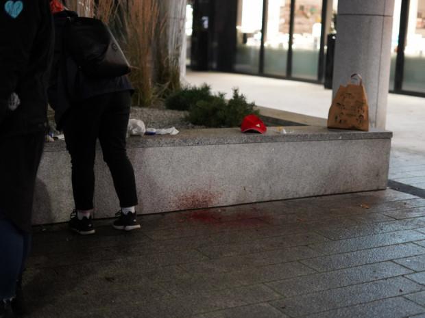 Do zdarzenia doszło w centrum Gdyni przy ul. Świętojańskiej.