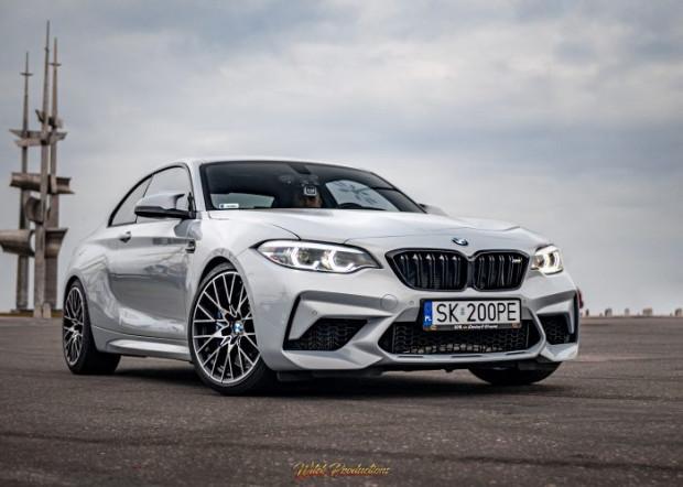 Trójmiejskie wypożyczalnie oferują m.in. 411-konne BMW M2 Competition.