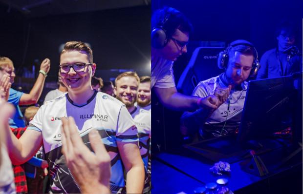 """Oskar """"oskarish"""" Stenborowski i Daniel """"STOMP"""" Płomiński w barwach Illuminar wygrali Games Clash Masters 2019 w Gdyni. Zdjęcia pochodzą właśnie z tej imprezy."""