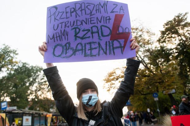 Wyrok TK wywołał falę protestów i są to protesty sprzeciwu wobec panującej władzy.