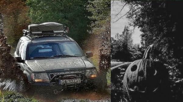 Haloweenowy rajd terenowy na orientację w Gdańsku to propozycja dla fanów off-roadowych imprez. Uczestnicy wezmą udział w konkursie na najciekawiej przystrojone auto.