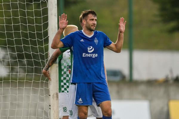 Michał Marczak strzelił 10 goli w tym sezonie. To trzeci wynik drugiej grupy III ligi.
