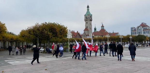 Ostatni z protestujących dotarli do Sopotu.