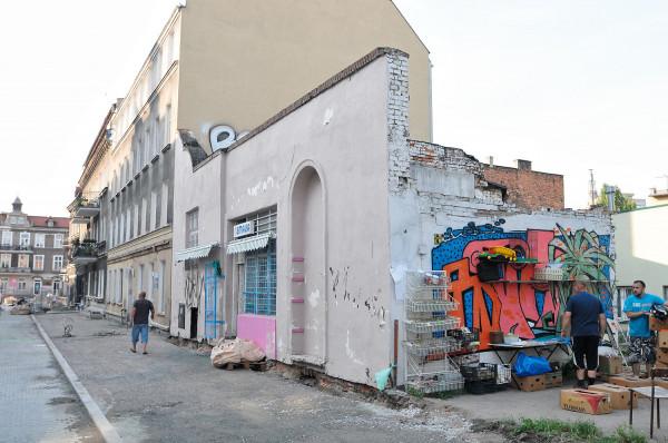 Ściana w 2013 roku...