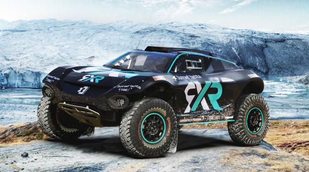 Elektryczny pojazd ze stajni Rosberg Xtreme Racing