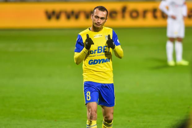 Marcus, który otworzył wynik meczu Arka Gdynia - Korona Kielce, awansował samodzielnie na trzecie miejsce w klasyfikacji najskuteczniejszych piłkarzy w historii klubu. Dla żółto-niebieskich strzelił 57. gola w oficjalnym meczu.