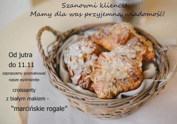Cukiernia Le Delice w tym roku proponuje słodką wariację na temat rogali świętomarcińskich.