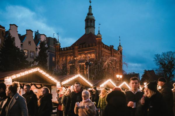 Jarmark Bożonarodzeniowy to już tradycja w Gdańsku.