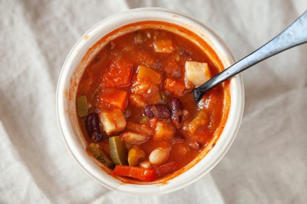 Zupa meksykańska od bistro Food Art.