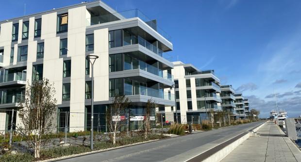 Trwają odbiory budynków osiedla Yacht Parku, które znajduje się przy Molo Rybackim w Gdyni