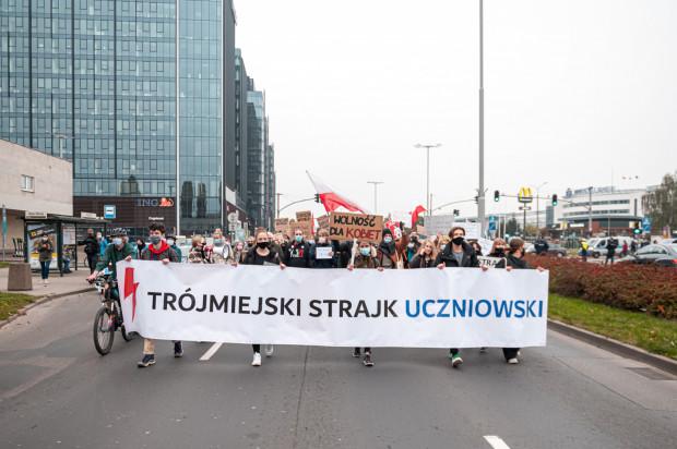 Uczniowie w ubiegłym tygodniu przyłączali się do protestów w obronie praw kobiet.