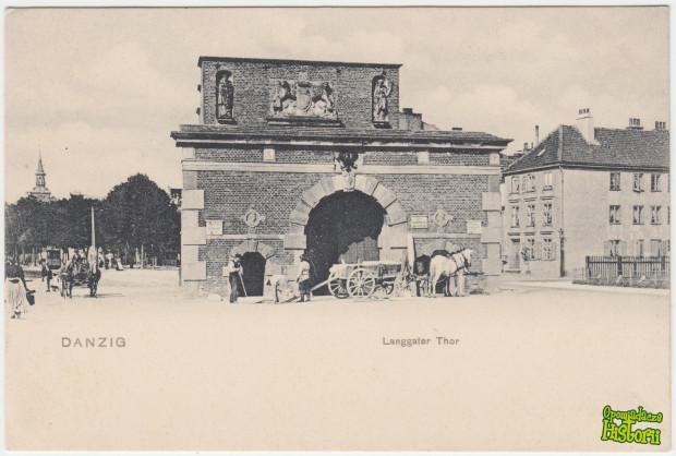 Brama Żuławska, wcześniej nazywana Bramą Długich Ogrodów była jedną z czterech ważnych bram prowadzących do miasta.
