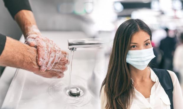 Najprostszą metodą przecinania łańcucha przedostawania się wirusa z rozmaitych powierzchni na nasze błony śluzowe jest po prostu odpowiednia i regularna higiena rąk.