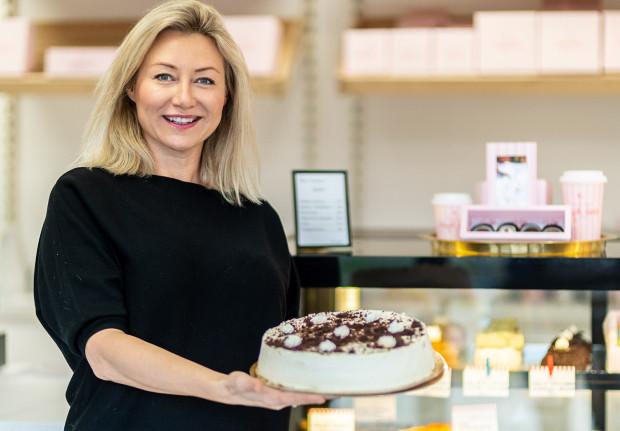 Właścicielka lokalu Ice Queen Cafe Magda Gessler
