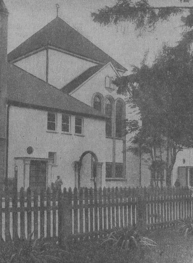 Synagoga we Wrzeszczu (tzw. Nowa Synagoga), 1927 r. Zbiory PAN Biblioteki Gdańskiej.