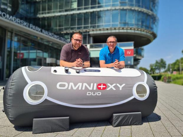 Omnioxy to firma rodzinna, której założycielami i głównymi udziałowcami jest dwóch braci oraz ich ojciec. Na zdjęciu Adam i Marcin Cegielscy