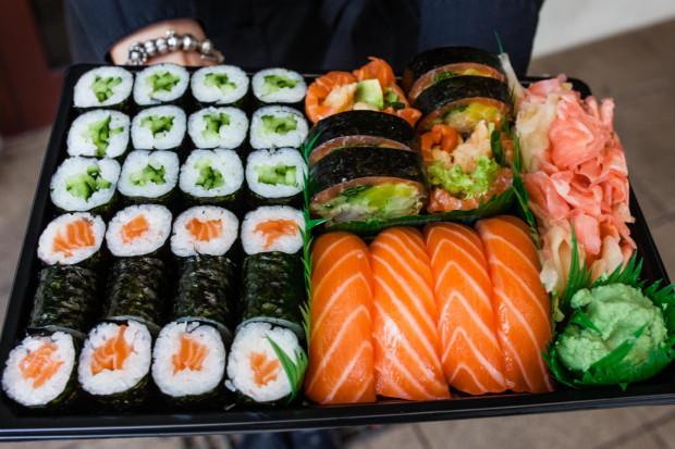 W zależności od nastroju każdy może znaleźć zestaw sushi dla siebie.