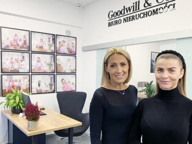 Właścicielki biura nieruchomości Goodwill & CO. Agnieszka Paszulewicz i Aleksandra Mańkowska (z prawej) mają już ponad 15 lat doświadczenia na rynku.