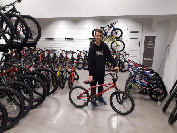W tym roku pierwszym darczyńcą na Pomorzu był Olaf, który przekazał swój rower do sklepu Wysepka.