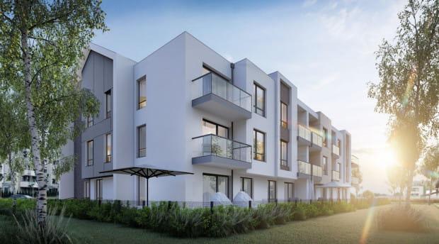 Centaura III to kameralny projekt mieszkaniowy, który powstaje w dobrze skomunikowanej części Osowej.