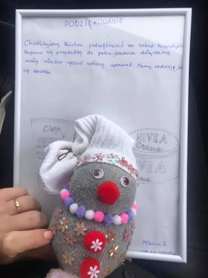 Dotychczas udało się pomóc Placówce opiekuńczo-wychowawczej nr 2 w Gdyni, dla której organizatorzy zakupili kilka produktów.