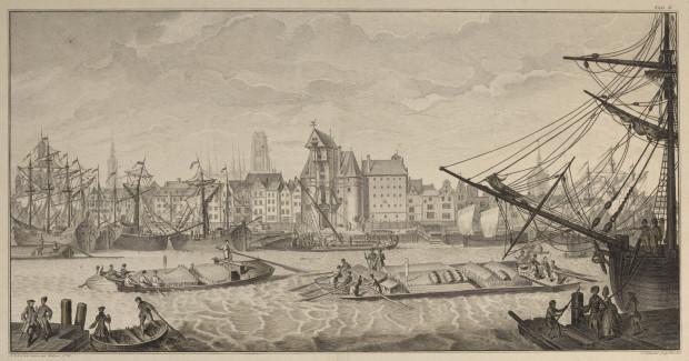 Ilustracja Friedricha Antona Augusta Lohrmanna z 1770 r.  ze zbiorów Muzeum Narodowego w Krakowie.