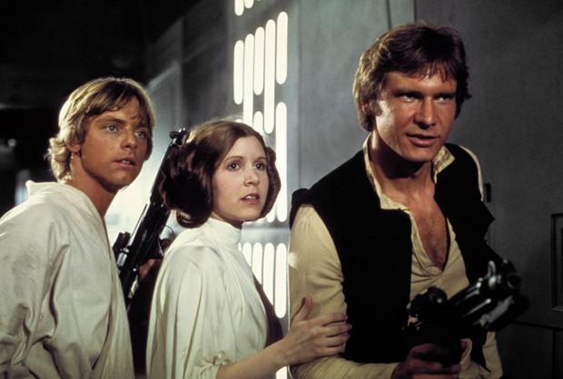 """""""Gwiezdne wojny"""" George'a Lucasa to jedna z najpopularniejszych i najbardziej dochodowych serii w historii kina."""