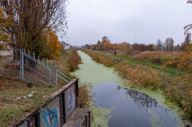 Kanał Rudnicki, który również zostanie przebudowany na końcowym odcinku.
