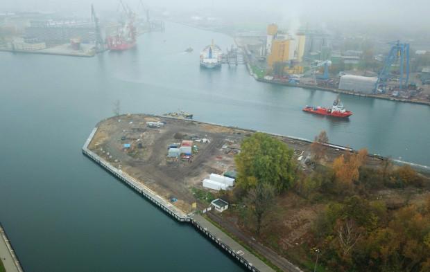 Obecnie z cypla Polskiego Haka zniknęły stare zabudowania. W przyszłości będzie tu mogło powstać osiedle.