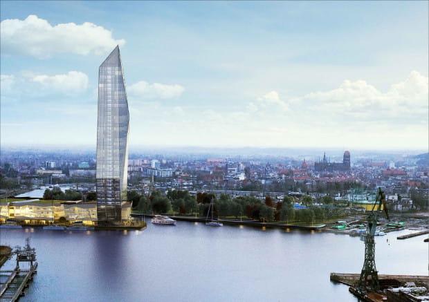 170-metrowa wieża zaprojektowana przez KD Kozikowski Design już na Polskim Haku nie powstanie.