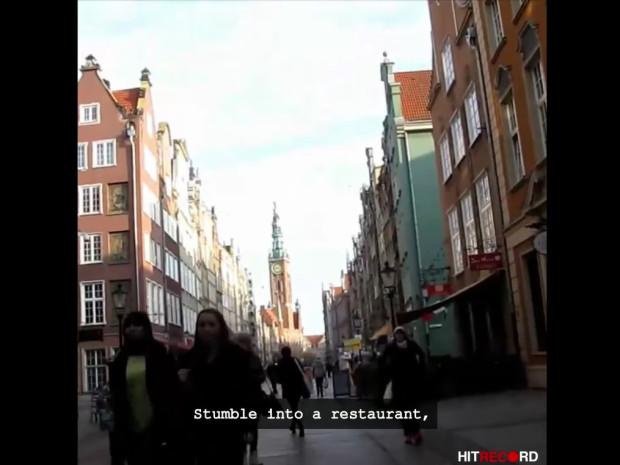 W filmie można dostrzec ulicę Długą.