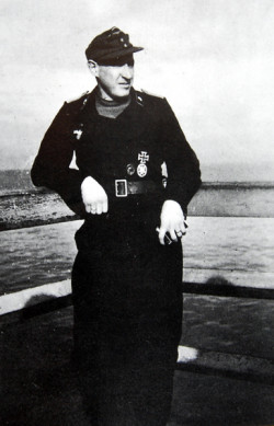 Podporucznik Hans Schäufler, świadek i autor zaskakującego wspomnienia z ogarniętego wojną Gdańska.