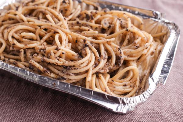 Spaghetti nero od Pizza&Vino.