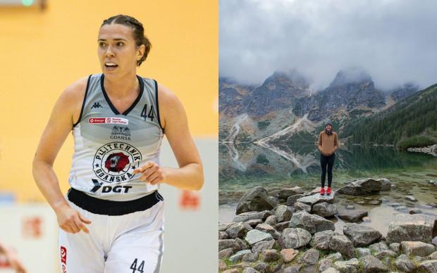 Ruth Hamblin zawodowo jest koszykarką DGT AZS Politechniki Gdańskiej, a prywatnie miłośniczką podróży. Zdjęcie po prawej pochodzi z Morskiego Oka w polskich górach.