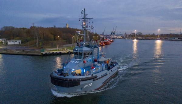 Semko to czwarty z serii sześciu holowników budowanych dla Marynarki Wojennej przez Remontową Shipbuilding.