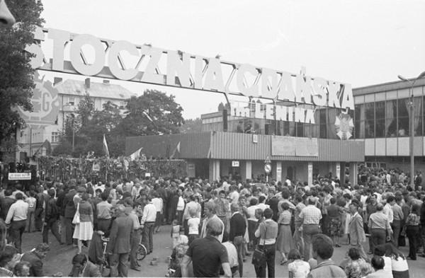 Zdjęcia z wydarzeń Sierpnia 1980 r.
