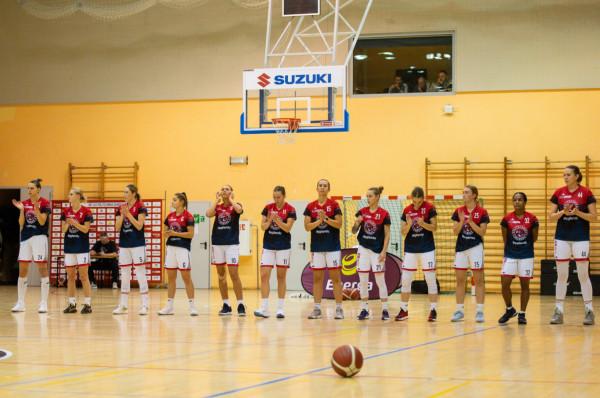 Koszykarki DGT AZS Politechniki Gdańskiej stać było na wyrównaną walkę z rywalkami zaledwie w pierwszej kwarcie.