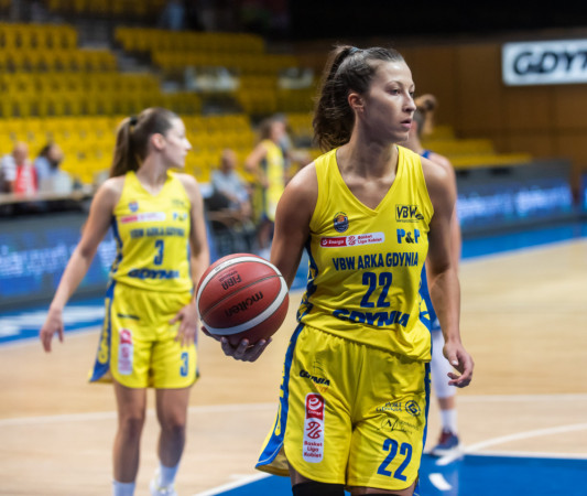 Amalia Rembiszewska (na zdjęciu) zdobyła w sobotnim spotkaniu 28 punktów.