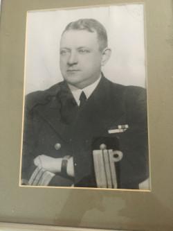 Komandor Kazimierz Bielawski.