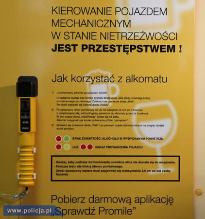 Instrukcja samoobsługowego alkomatu