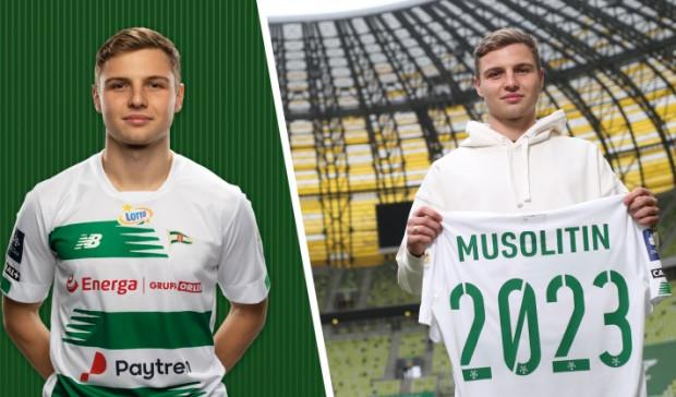 Mykola Musolitin został piłkarzem Lechii Gdańsk.